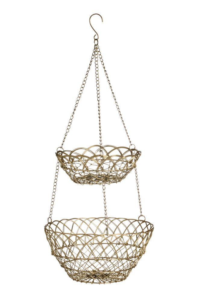 Roikkuva Metallikori Hanging Wire Basket Wire Baskets H M Home