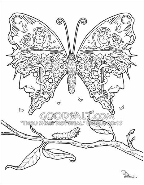 58 best Adult Christian Coloring Pages by Dave O'Connell