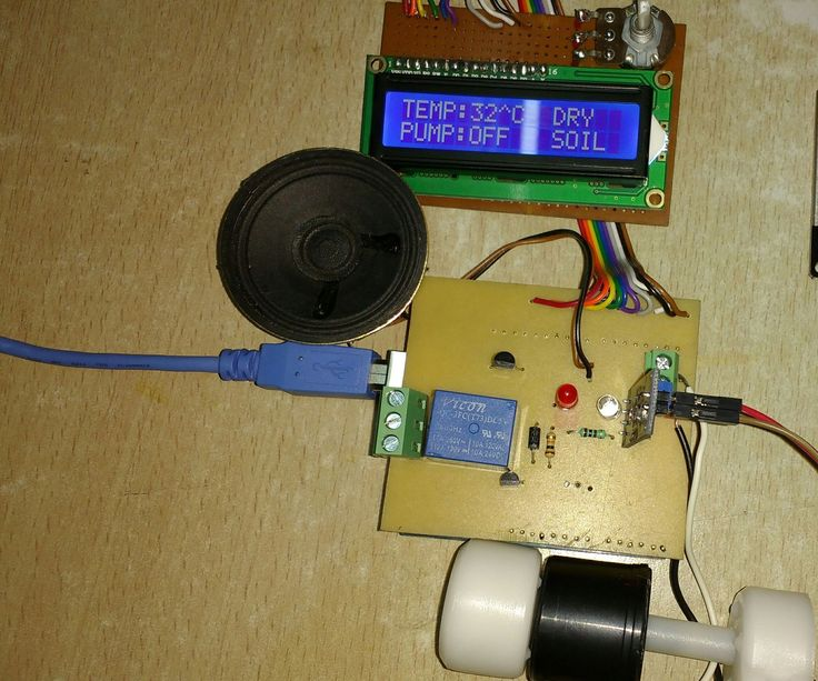 Hello Everybody! I am Back with another Instructables!!In this project i will be demonstrating Automatic Irrigation System with integrated temperature sensor which irrigates or waters your plants automatically. This system is best suited for drip irrigation technique. A Moisture sensor is used to read the Moisture content of the soil. The LM35 Temperature Sensor reads the ambient temperature. This System will help you to irrigate your backyard Garden or your Indoor Garden automatically and…