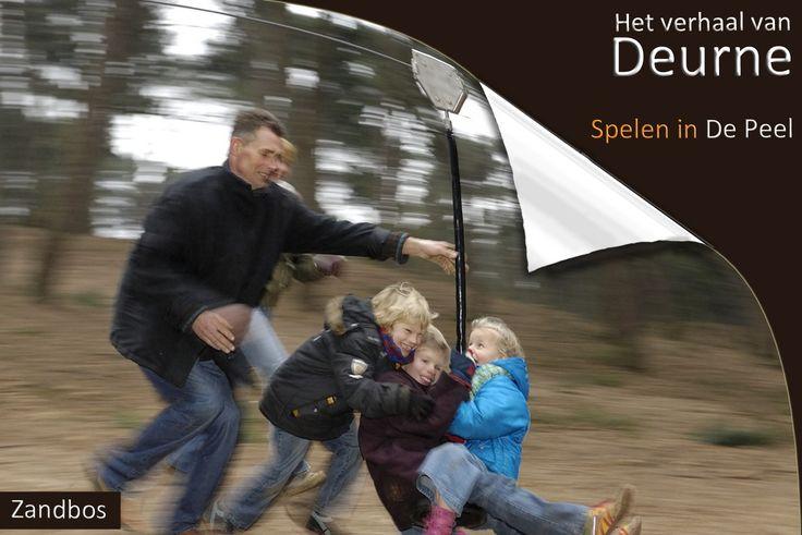 Zandbos  Wat is nou fijner dan met het hele gezin naar het bos, in het weekend, of zomaar door de week. In de natuurspeeltuin in het Zandbos kunnen kinderen naar hartelust spelen, klimmen, schommelen, bouwen en roetsjen.                    foto: Peter Hol inkader fotografie - See more at: http://www.deurne-in-depeel.nl