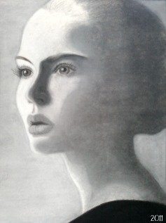 Chalk and Charcoal by Jolene Hachey