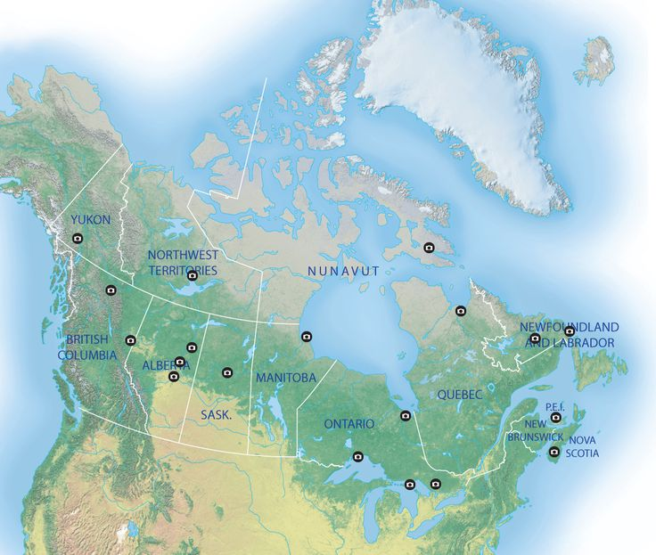 Best places in canada to view the aurora borealis Map: The future of science in Canada's North
