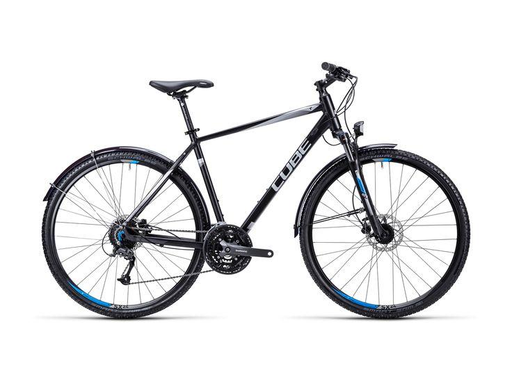 Cube Curve Allroad 2015, black silver blue - Fitnessbike im Biker-Boarder Shop kaufen