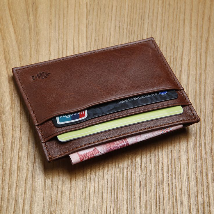 LAN 100% Cow leather  men's leather slim card case  casual bank card holder women's credit card case #men, #hats, #watches, #belts, #fashion