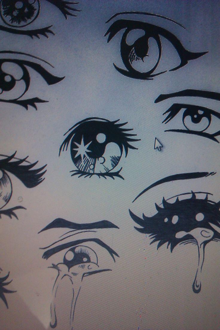 crying manga eyes Crying Eyes Pinterest
