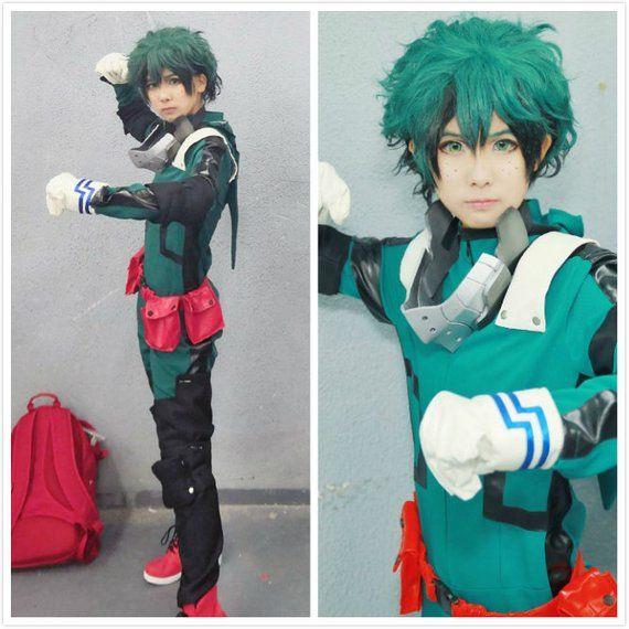 My hero academia Midoriya Izuku cosplay costumes full set ...