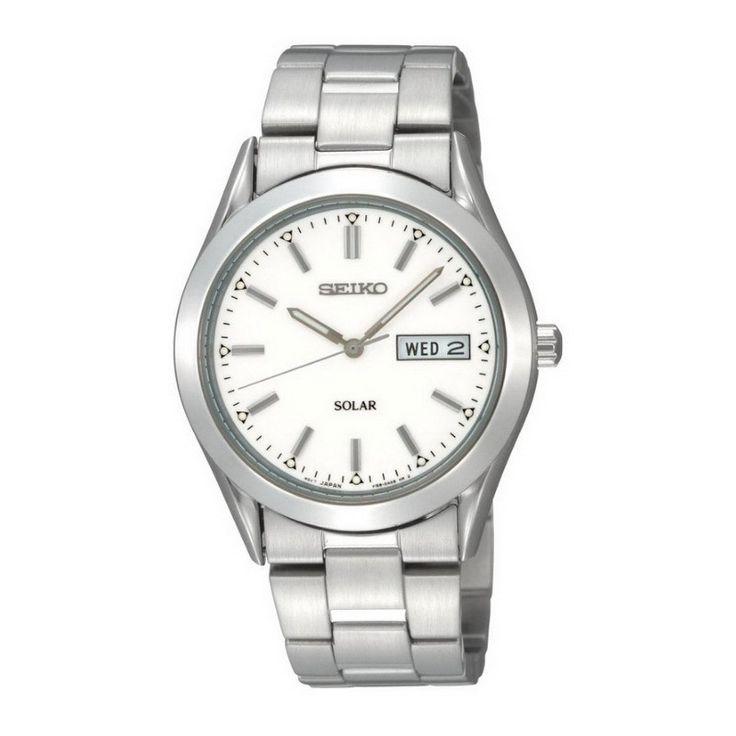 Seiko+Solar+Herren+Armbanduhr Elegant-klassische+Herren-Solaruhr+der+Marke+Seiko.