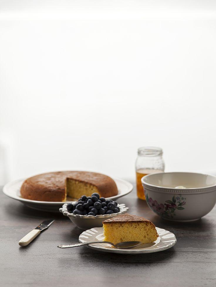 Divino Macaron: Torta de harina de maíz, mascarpone y naranja... gluten free.