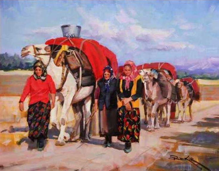 Bekir ÜSTÜN - Sanatçı Detayı - Turkish Paintings