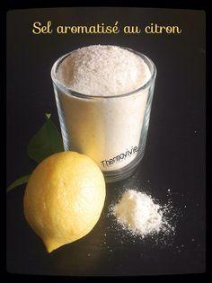 Les grillades, les salades, les poissons... Sans oublier les paniers cadeaux pour la maîtresse en fin d'année.. Le sel parfumé au citron va devenir le
