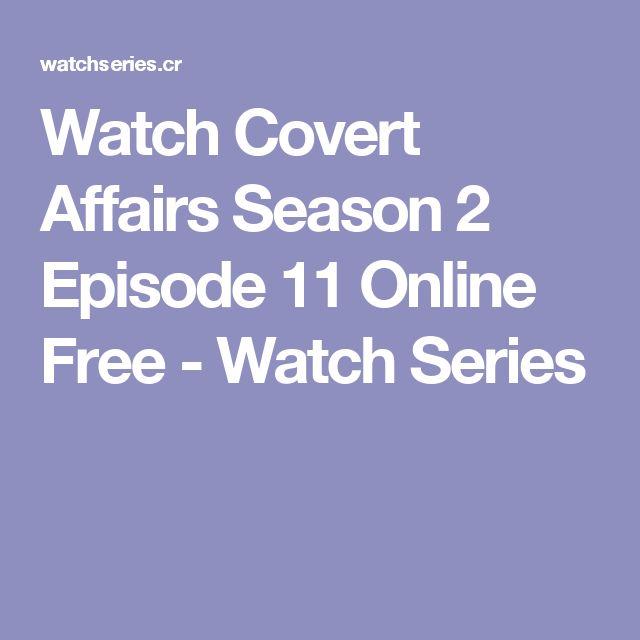 Watch Covert Affairs Season 2 Episode 11 Online Free - Watch Series