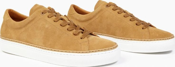 Number 288 Greige Suede Prince™ Sneakers The No.288 Suede Prince™ Sneakers, seen here in greige. - - - A classic tennis-inspired silhouette is given a luxurious update by New York™s No. 288, with these Prince™ sneakers handcrafted from premi http://www.comparestoreprices.co.uk/january-2017-6/number-288-greige-suede-prince™-sneakers.asp