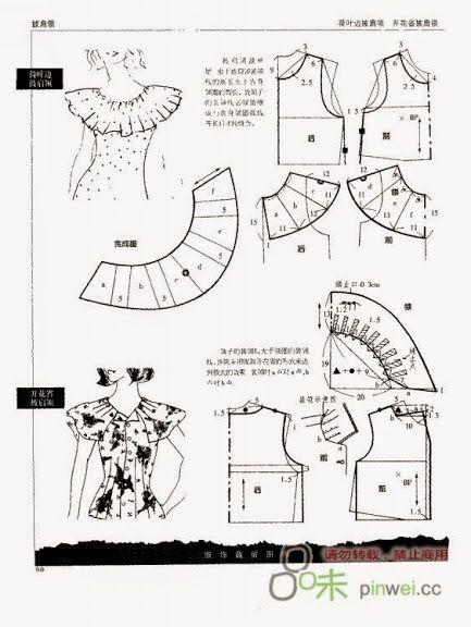 Моделирование воротников, рукавов и т.д. - Ирина Владимирова - Picasa Web Albums