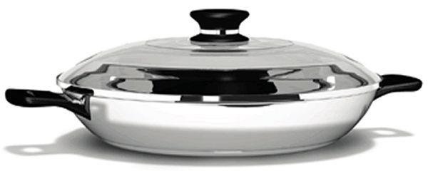 Amway Сковородка диаметром 30 см с крышкой iCook