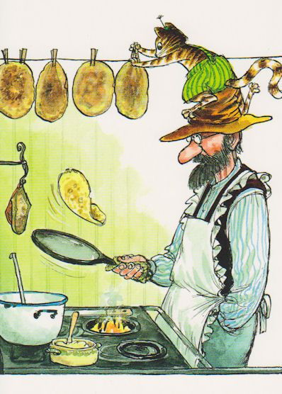 "Previous pinner: ""Pancake Pie - best children's book, ever! by Sven Nordqvist"""
