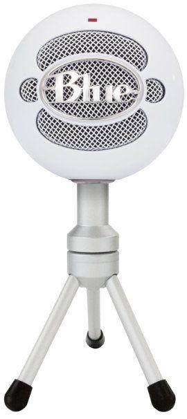 Blue Microphones Snowball iCE - 70€ - Micrófono de condensador (cardiode, conector USB), color blanco