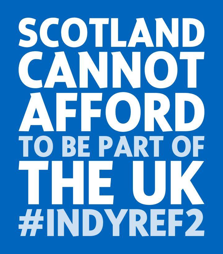The economic argument for independence. #indyref2