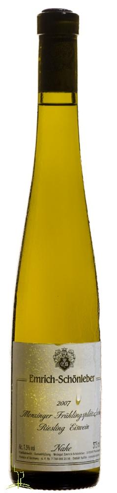 Eiswein vom Frühlingsplätzchen – passt! Emrich-Schönleber Monziger Frühlingsplätzchen Riesling Eiswein 2007 (0,375l), Deutschland, Nahe, im Weinhandel online kaufen und bestellen.