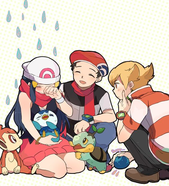 Pokemon Dawn: 27 Best Images About Barry X Dawn On Pinterest