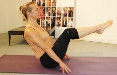 Posture du bateau pour débutants - Posture de yoga: 20 postures de yoga en images