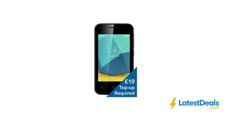 Vodafone Smart First 7 Mobile Phone - White £10 Top up Required, £14.99 at Argos