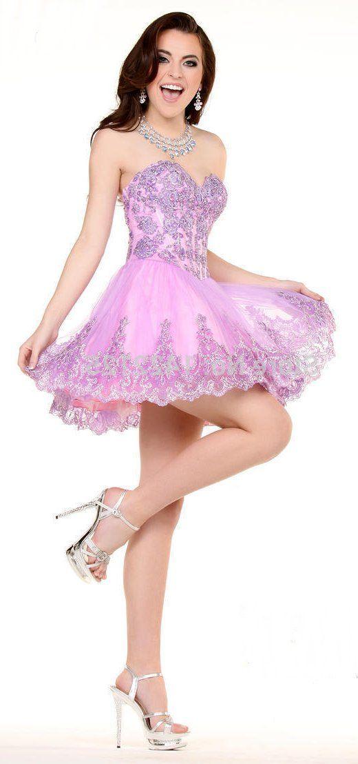 Short Cocktail Dresses Suit For Her - Plus Size Tops