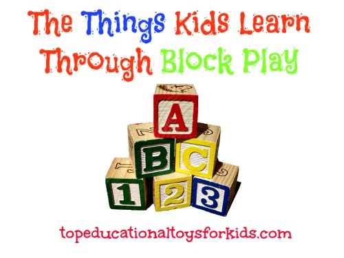 Building Blocks for Toddlers and Babies: The Things Kids Learn