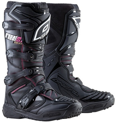 NEW ONEAL MOTOCROSS/RACING ELEMENT WOMENS MOTOCROSS LOVE the pink accent!! Ordering these :)