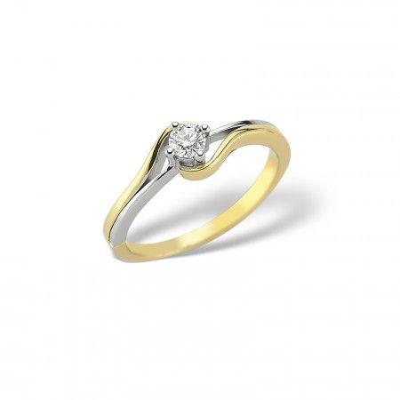 Inel de logodna LDR1084 - Diamante - Inele de logodnă