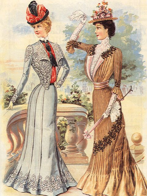 suzseams: August 1900 Delineator