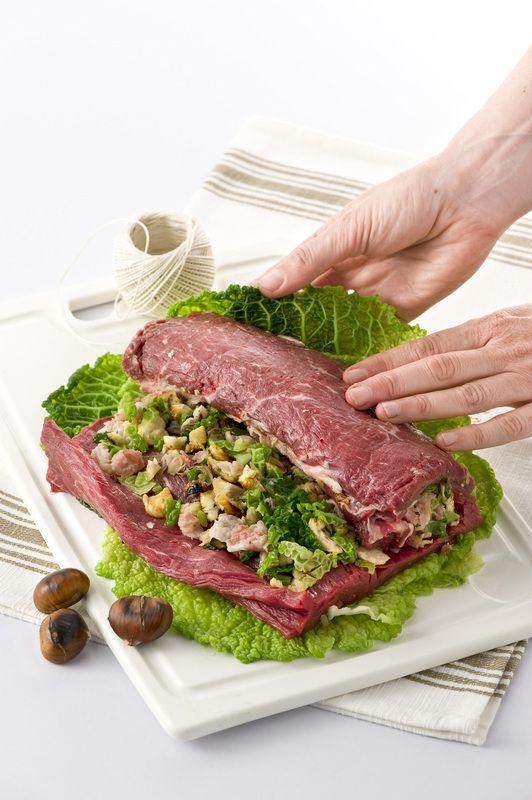 Filetto arrotolato con verza e castagne: scopri i consigli pratici di Donna Moderna per la cucina di tutti i giorni!