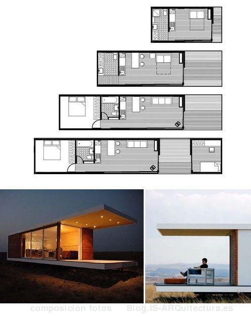 Casas prefabricadas. El pensamiento del ahorro a corto y largo plazo