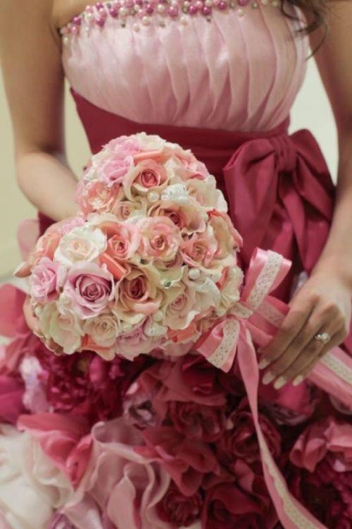 女の子が憧れるブーケ?結婚式で話題の「ステッキブーケ」に注目♡ | 4meee! (フォーミー)