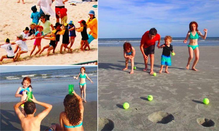 10 jeux de plage à faire avec vos enfants !
