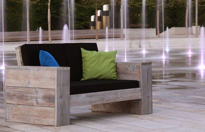 Lounge 2er Sofa, 24 Polsterfarben wählbar » WITTEKIND