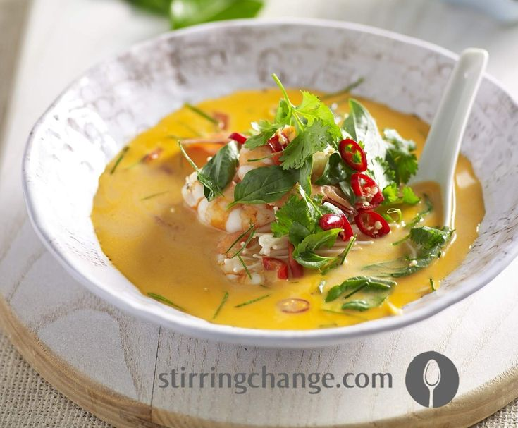 Recipe Tom Yum Soup by Stirring Change - Recipe of category Soups