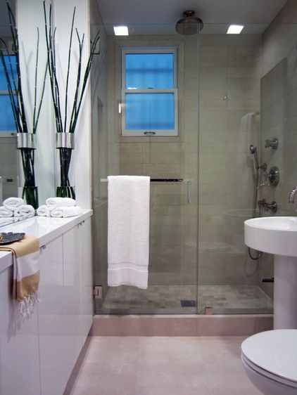 139 best images about small bathroom ideas on pinterest - Bathroom door ideas for small spaces ...