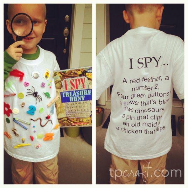 TPcraft.com: I Spy Costume {Elementary School Character Parade}