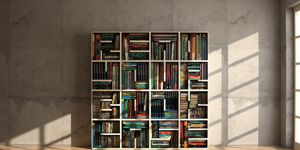 Saporiti - Touch of Modern: Innovation Bookcases W, Inspiration Bookcases, Practice Bookcases