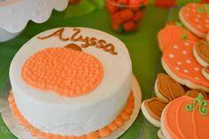 Pumpkin's Smash Cake