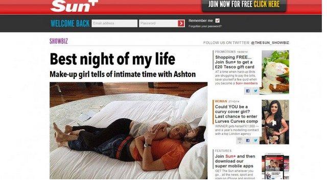 Le fue infiel a Mila Kunis... Sale a la luz escandalosa foto Ashton Kutcher y su amante en la cama | CORAZON VIP 2