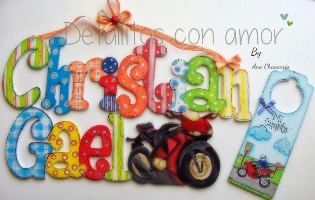Letrero niño<3 https://www.facebook.com/pages/Detallitos-con-amor/226388200757614?ref=br_rs