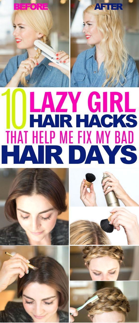 10 Hair Hacks That Re Sure To Save You From Bad Hair Days Hair