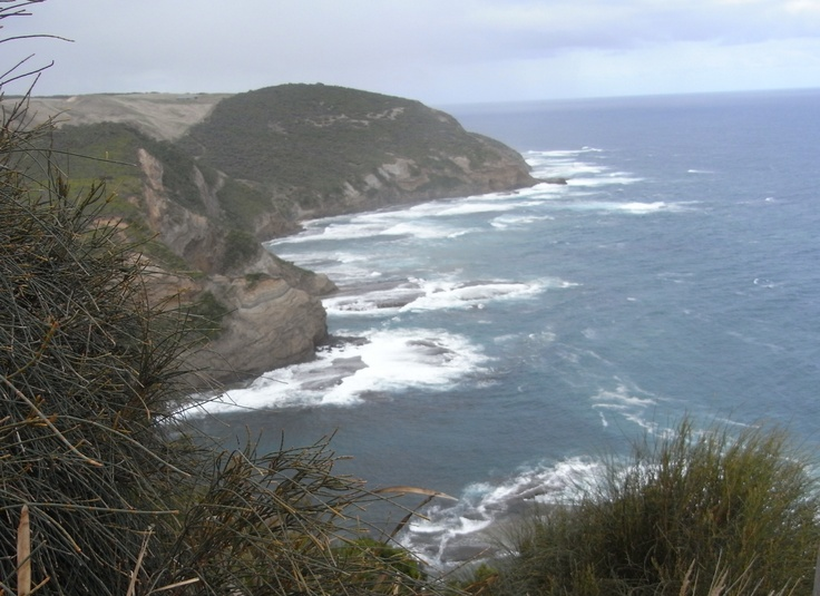 From Gables Lookout near Apollo Bay