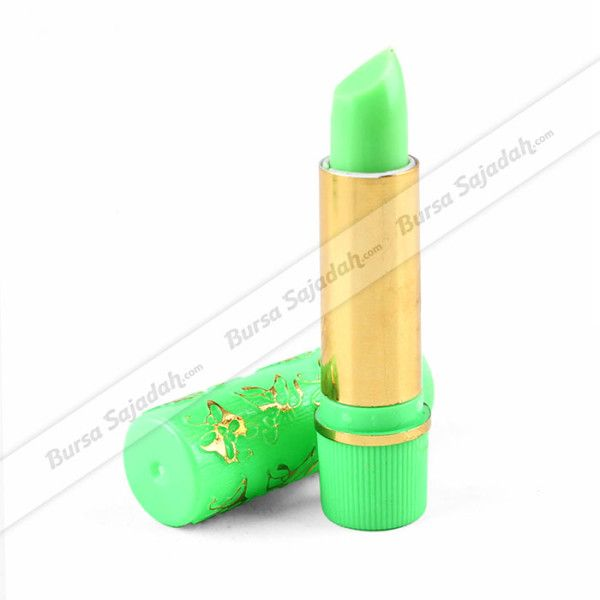 Lipstik Hare sering disebut juga lipstik ajaib atau magic green lipstick karena batangnya yang berwarna hijau namun setelah dikenakan pada bibir, warna yang dihasilkan berubah menjadi merah muda / pink. Lipstik berkualitas dengan harga ekonomis yang membuat bibir Anda mengkilap, lembab, & lembut ini merupakan salah satu souvenir / oleh-oleh haji dan umroh populer untuk kaum wanita.