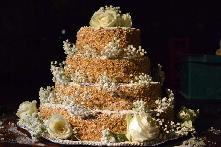 Four Layer Traditional Italian Wedding cake - Il Millefoglie. All Rights Reserved GUIDI LENCI www.guidilenci.com