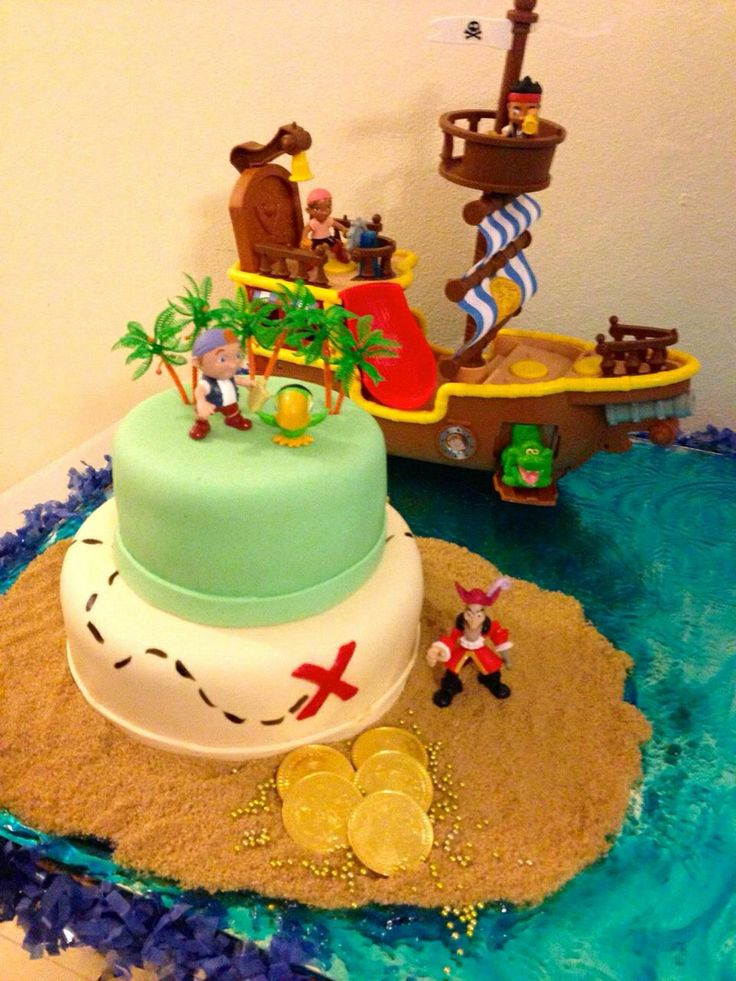 neverland pirates cake jake and the neverland pirates cake by kb cakes ...