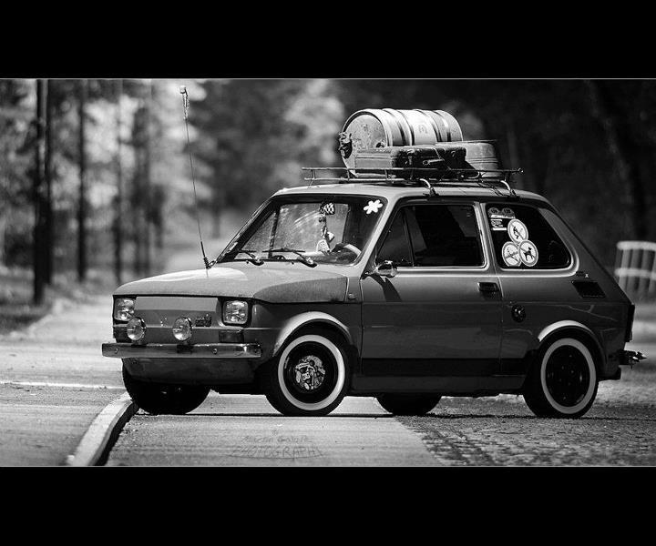 Fiat 126 Polski (looking a bit 90's-ish!)
