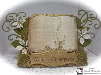 Crafting with Class: Christmas Center Step Card