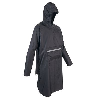 Cycling clothing Cycling - 300 Waterproof Urban Cycling Poncho B'TWIN - Helmet, Clothing and Footwear